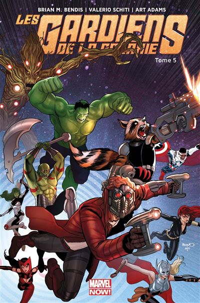 Les Gardiens de la Galaxie Marvel now