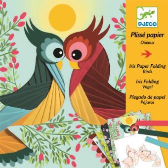 Coffret de bricolage Oiseaux Iris Folding Djeco