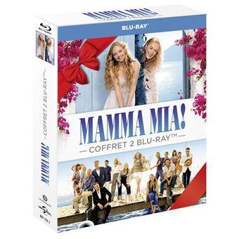 Mamma Mia !Coffret Mamma Mia ! 1 et 2 Blu-ray
