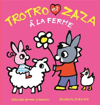 Trotro et Zaza à la ferme