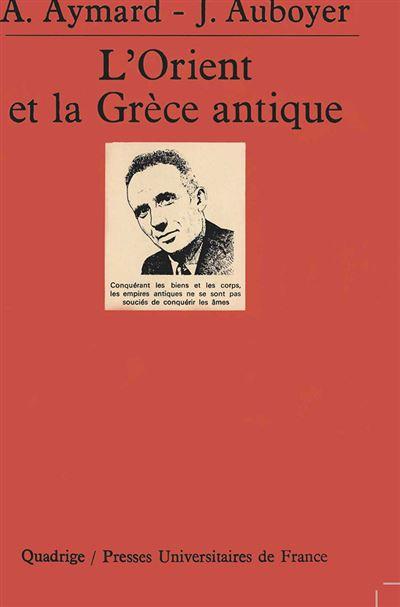 L'orient et la grece antique