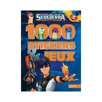 Slugterra slugterra 1000 stickers et jeux collectif - Jeux slugterra gratuit ...