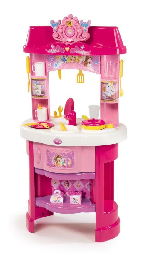 Cuisine Disney Princesses Smoby + 22 Accessoires