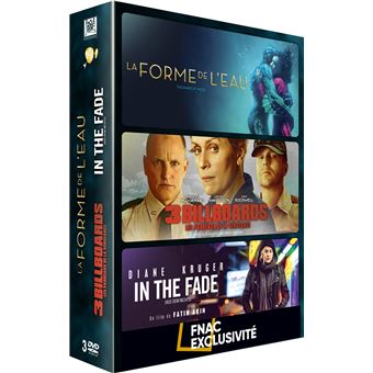 3 billboards/la forme de l eau/in the fade/edition fnac