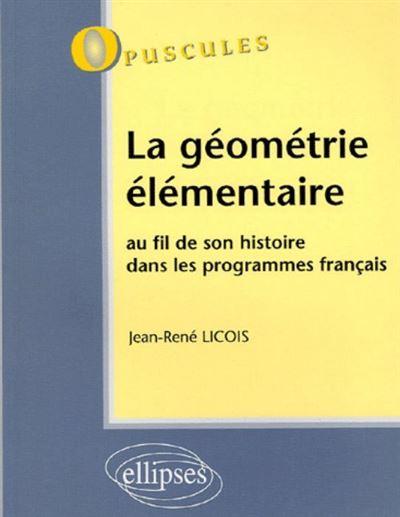 La géométrie élémentaire