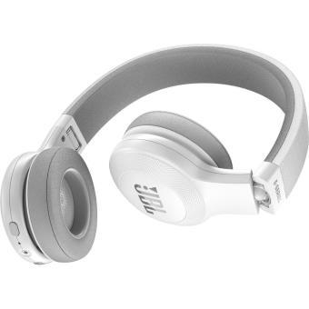 jbl e45bt blanc casque audio blanc