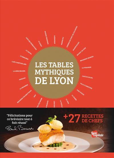 Tables mythiques de Lyon