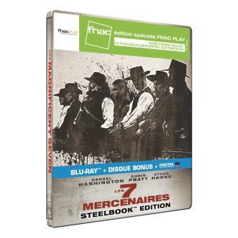 Les Sept mercenaires Edition limitée FnacPlay Steelbook Blu-ray