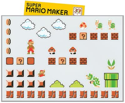 Bonus de résa Super Mario Maker Planche de magnets - Solution de jeu