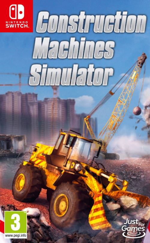 Construction Machines Simulator Nintendo Switch