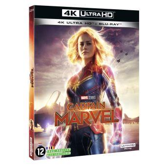 Captain MarvelCaptain Marvel Blu-ray 4K Ultra HD