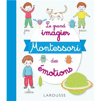 Mon imagier Montessori des émotions