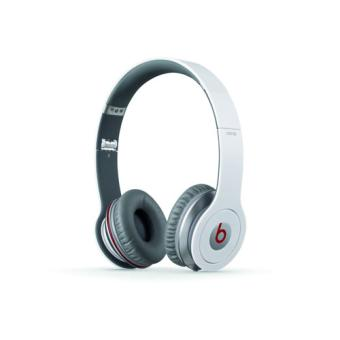 casque beats by dr dre solo hd white blanc casque filaire fnac. Black Bedroom Furniture Sets. Home Design Ideas