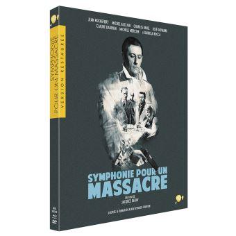 Symphonie pour un massacre Edition limitée Blu-ray