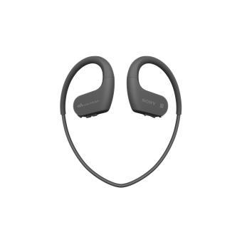 Lecteur MP3 Casque Sport Sony NWWS623 4 Go Bluetooth NFC Noir