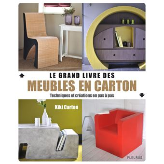 le grand livre des meubles en carton cartonn kiki. Black Bedroom Furniture Sets. Home Design Ideas