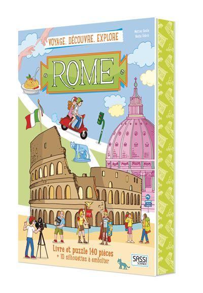 Voyage, découvre, explore Rome