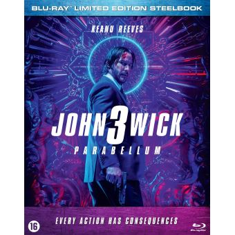 John wick 3 version simple-BIL-BLURAY STEELBOOK