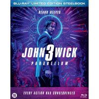 JOHN WICK 3 VERSION SIMPLE-BIL-BLURAY STEELBOOK