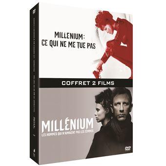 MilléniumCoffret Millénium : Les hommes qui n'aimaient pas les femmes et Ce qui ne me tue pas DVD