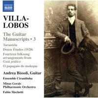 Villa-Lobos: The Guitar Manuscripts Vol.3
