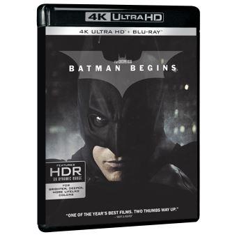 BatmanBatman Begins Edition Limitée 4K Ultra HD + Blu-ray