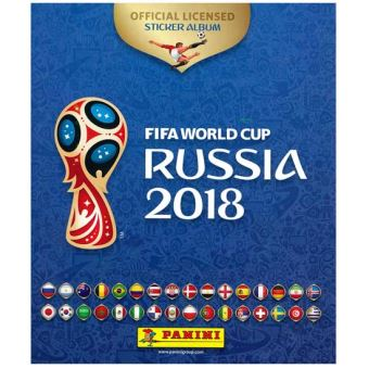PANINI ALBUM WORLD CUP  RUSSIA 2018