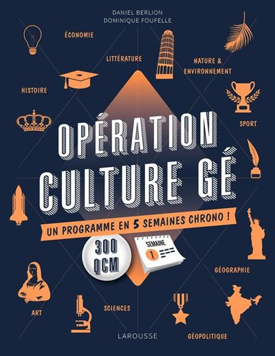 OPERATION CULTURE GE ! - 9782035936714 - 9,99 €