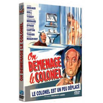 On déménage le Colonnel DVD