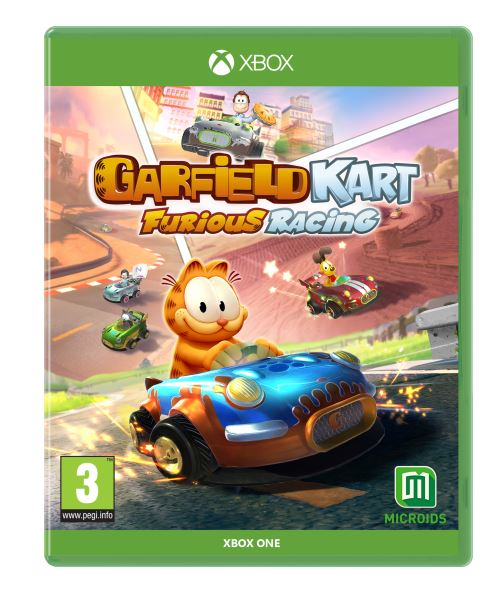Garfield Kart Furious Racing Nintendo Switch