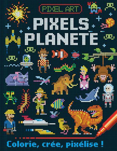 Pixels Planete Coll Pixels Art