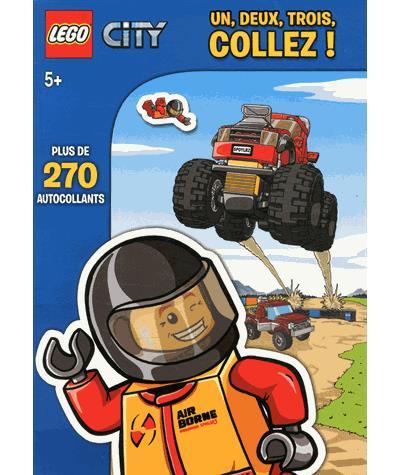 Lego City - Tome 1 : Lego city sticker book 1