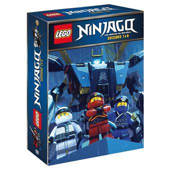 Coffret lego ninjago saisons 1 8 dvd pr commande - Lego chima saison 2 ...
