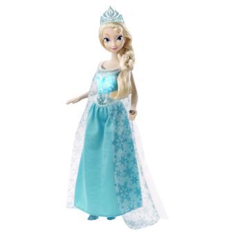 poupe elsa lumire frozen la reine des neiges disney - Barbie La Reine Des Neiges