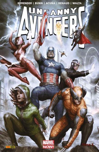 Uncanny Avengers (2013) T05 - Prélude à Axis - 9782809464627 - 9,99 €
