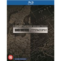 Coffret Band of Brothers + The Pacific Blu-ray
