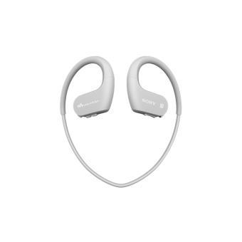 Lecteur MP3 Casque Sport Sony NWWS623 4 Go Bluetooth NFC Blanc