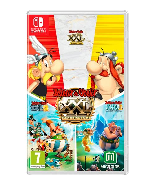 Asterix et Obelix XXL Collection Nintendo Switch