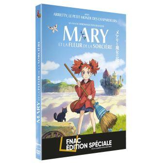 Mary et la fleur de la sorcière Edition Fnac DVD