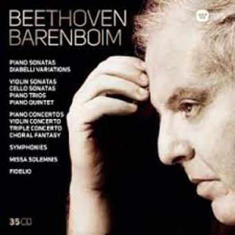 BEETHOVEN BARENBOIM/35CD