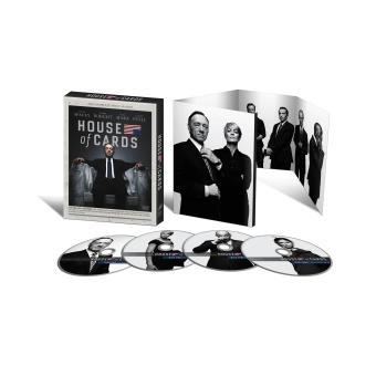 House of cardsCoffret intégral de la Saison 1- DVD