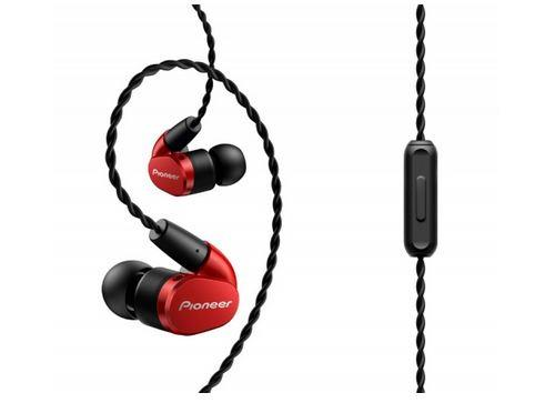 Ecouteurs Pioneer SE-CH5T-R Rouge