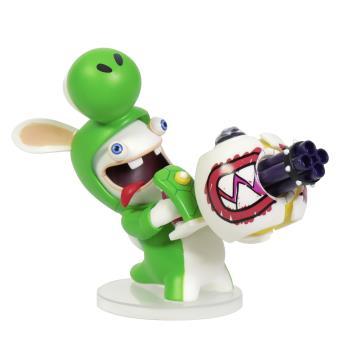 Figurine Mario et Les Lapins Crétins Kingdom Battle Yoshi 8 cm