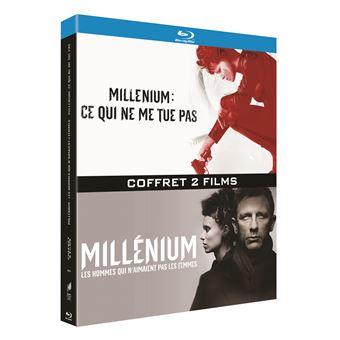 MilléniumCoffret Millénium : Les hommes qui n'aimaient pas les femmes et Ce qui ne me tue pas Blu-ray