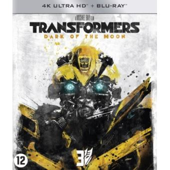 TRANSFORMERS 3:DARK OF THE MOON-BIL-BLURAY 4K