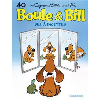 Boule et BillBill à facettes