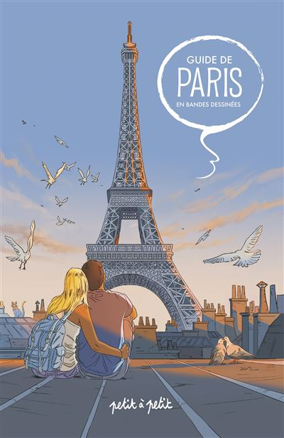 Guide de paris en bandes dessinees