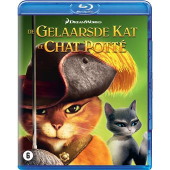 GELAARSDE KAT, DE/CHAT POTTE-BIL-BLURAY