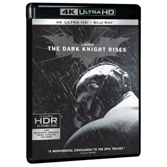 BatmanThe Dark Knight Rises Edition Limitée Blu-ray 4K Ultra HD