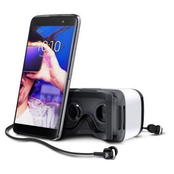 Smartphone Alcatel Idol 4S Double SIM 32 Go Or + Casque de réalité virtuelle